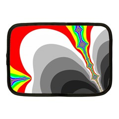 Background Image With Color Shapes Netbook Case (medium)