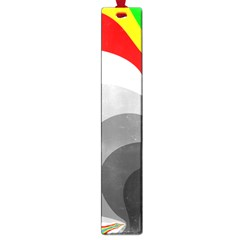 Background Image With Color Shapes Large Book Marks by Simbadda
