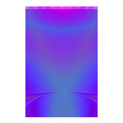 Violet Fractal Background Shower Curtain 48  X 72  (small)  by Simbadda