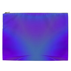 Violet Fractal Background Cosmetic Bag (xxl)  by Simbadda