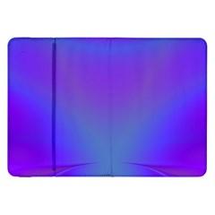 Violet Fractal Background Samsung Galaxy Tab 8 9  P7300 Flip Case by Simbadda
