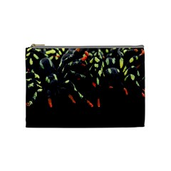 Colorful Spiders For Your Dark Halloween Projects Cosmetic Bag (medium)  by Simbadda