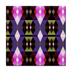 Geometric Abstract Background Art Tile Coasters by Simbadda