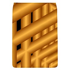 Fractal Background With Gold Pipes Flap Covers (s)  by Simbadda