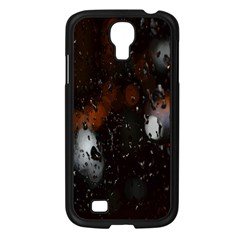 Lights And Drops While On The Road Samsung Galaxy S4 I9500/ I9505 Case (Black)