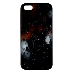 Lights And Drops While On The Road Iphone 5s/ Se Premium Hardshell Case by Simbadda