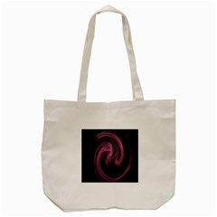 A Pink Purple Swirl Fractal And Flame Style Tote Bag (cream) by Simbadda