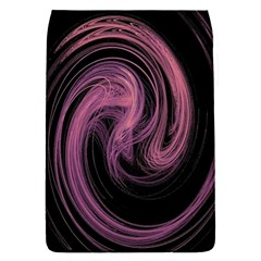 A Pink Purple Swirl Fractal And Flame Style Flap Covers (s)  by Simbadda