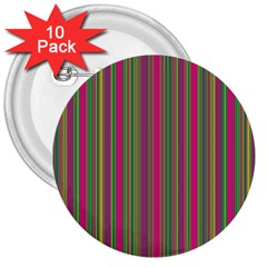 Lines 3  Buttons (10 Pack)  by Valentinaart