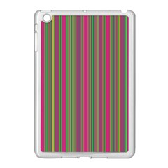 Lines Apple Ipad Mini Case (white) by Valentinaart