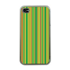 Lines Apple Iphone 4 Case (clear) by Valentinaart