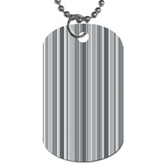 Lines Dog Tag (two Sides) by Valentinaart