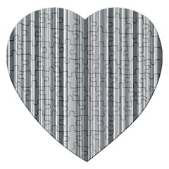 Lines Jigsaw Puzzle (heart) by Valentinaart