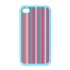 Lines Apple Iphone 4 Case (color) by Valentinaart