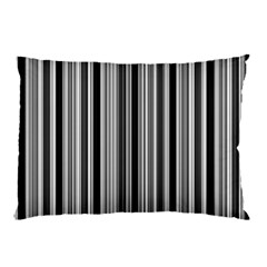 Lines Pillow Case (two Sides) by Valentinaart