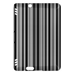 Lines Kindle Fire Hdx Hardshell Case by Valentinaart