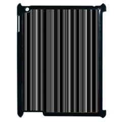 Lines Apple Ipad 2 Case (black) by Valentinaart