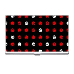 Polka Dots  Business Card Holders by Valentinaart