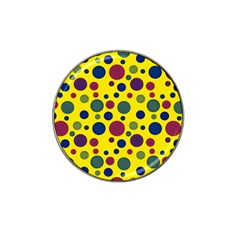 Polka Dots Hat Clip Ball Marker by Valentinaart