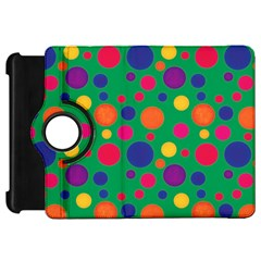 Polka Dots Kindle Fire Hd 7  by Valentinaart