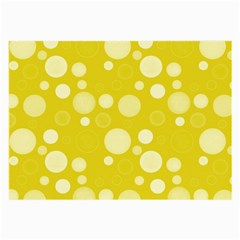 Polka Dots Large Glasses Cloth by Valentinaart