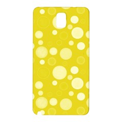 Polka Dots Samsung Galaxy Note 3 N9005 Hardshell Back Case by Valentinaart