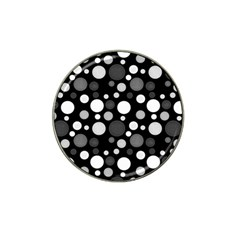 Polka Dots Hat Clip Ball Marker (4 Pack) by Valentinaart