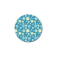 Polka Dots Golf Ball Marker by Valentinaart