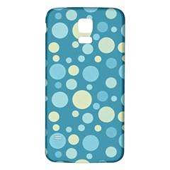 Polka Dots Samsung Galaxy S5 Back Case (white) by Valentinaart