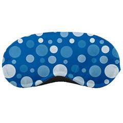 Polka Dots Sleeping Masks by Valentinaart