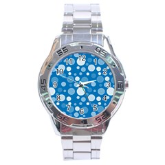 Polka Dots Stainless Steel Analogue Watch by Valentinaart