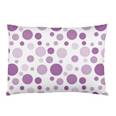 Polka Dots Pillow Case by Valentinaart