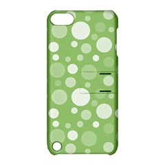 Polka Dots Apple Ipod Touch 5 Hardshell Case With Stand by Valentinaart