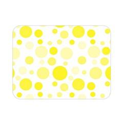 Polka Dots Double Sided Flano Blanket (mini)  by Valentinaart