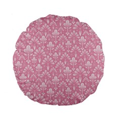 Pattern Standard 15  Premium Flano Round Cushions by Valentinaart