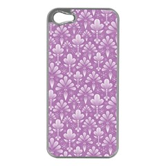 Pattern Apple Iphone 5 Case (silver) by Valentinaart