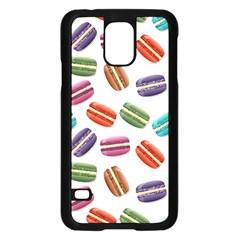 Macaroons  Samsung Galaxy S5 Case (black) by Valentinaart