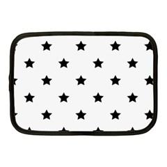 Stars Pattern Netbook Case (medium)  by Valentinaart