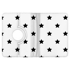 Stars Pattern Kindle Fire Hdx Flip 360 Case by Valentinaart