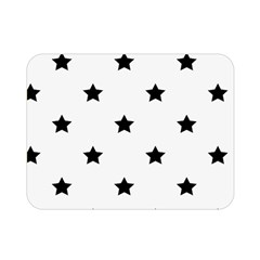 Stars Pattern Double Sided Flano Blanket (mini)  by Valentinaart