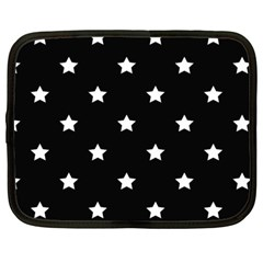 Stars Pattern Netbook Case (large) by Valentinaart