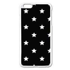Stars Pattern Apple Iphone 6 Plus/6s Plus Enamel White Case by Valentinaart