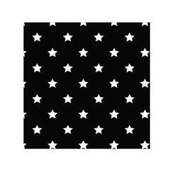 Stars Pattern Small Satin Scarf (square) by Valentinaart