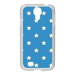 Stars Pattern Samsung Galaxy S4 I9500/ I9505 Case (white) by Valentinaart