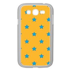 Stars Pattern Samsung Galaxy Grand Duos I9082 Case (white) by Valentinaart