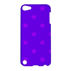 Stars Pattern Apple Ipod Touch 5 Hardshell Case by Valentinaart