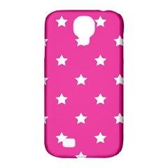 Stars Pattern Samsung Galaxy S4 Classic Hardshell Case (pc+silicone) by Valentinaart