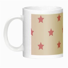 Stars Pattern Night Luminous Mugs by Valentinaart