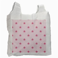 Stars Pattern Recycle Bag (two Side)  by Valentinaart