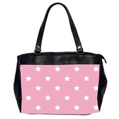 Stars Pattern Office Handbags (2 Sides)  by Valentinaart